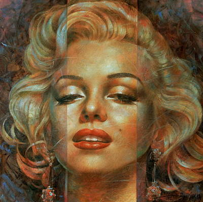 Actor Wall Art - Painting - Marilyn Monroe by Arthur Braginsky