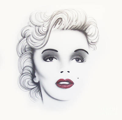 Marilyn Monroe Painting - Marilyn Monroe by Devaron Jeffery