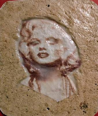 Mixed Media - Marilyn Monroe by Edward Longo