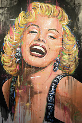 Painting - Marilyn Monroe Film Movie Actress Art Painting by Amy Giacomelli