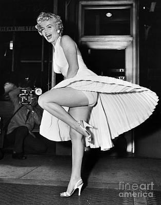 Marilyn Monroe Art Print by Granger