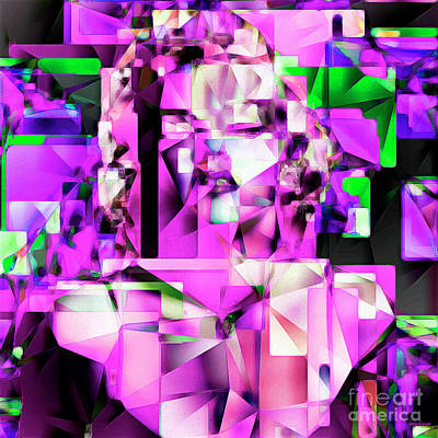Sex Symbol Photograph - Marilyn Monroe In Abstract Cubism 20170401 by Wingsdomain Art and Photography