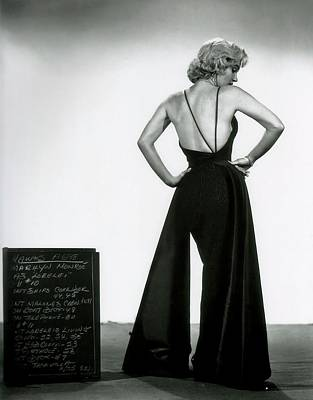 Photograph - Marilyn Monroe In Gentlemen Prefer Blondes by R Muirhead Art