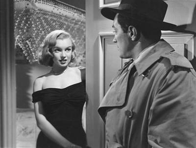 Photograph - Marilyn Monroe In The Asphalt Jungle  by R Muirhead Art