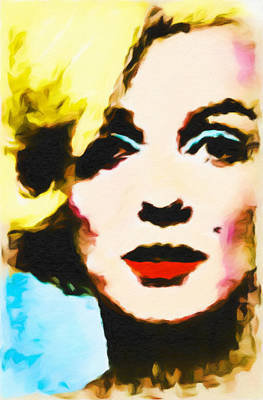 Painting - Marilyn Monroe by Joan Reese