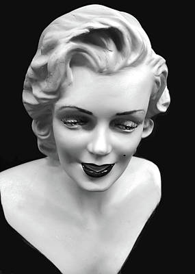 Photograph - Marilyn Monroe by JoAnn Lense