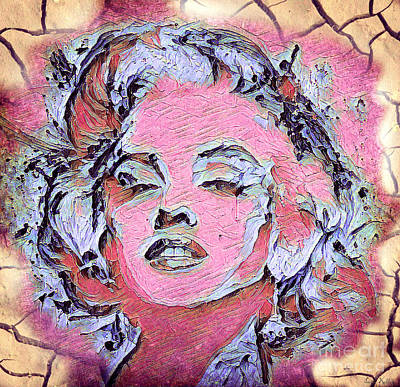 Painting - Marilyn Monroe by Lita Kelley