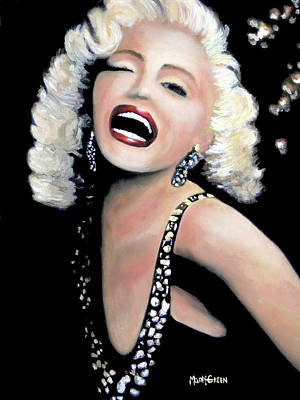 Painting - Marilyn Monroe by Marti Green