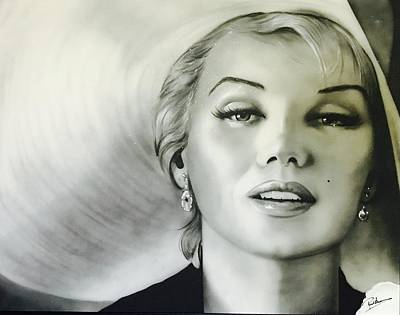 Abstract Expressionism - Marilyn Monroe by Paul Karslake