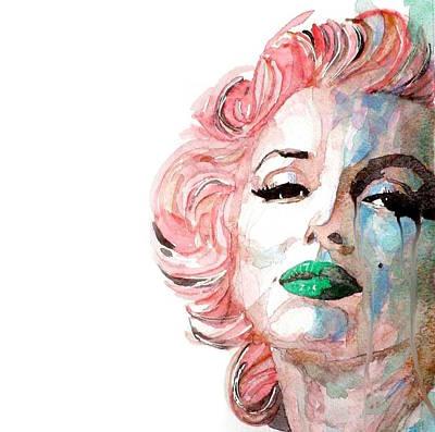 Los Angeles Painting - Marilyn Monroe  by Paul Lovering