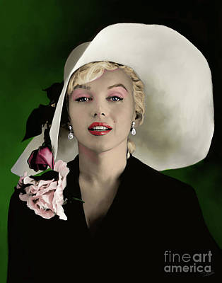 Monroe Painting - Marilyn Monroe by Paul Tagliamonte