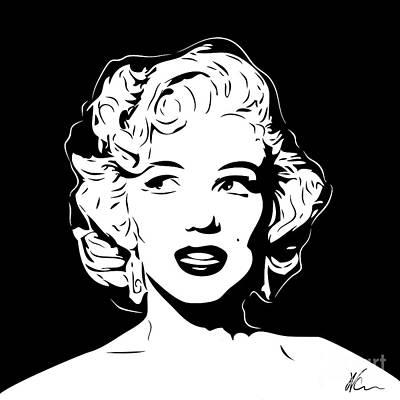 Marilyn Digital Art - Marilyn Monroe - Pop Art by William Cuccio aka WCSmack