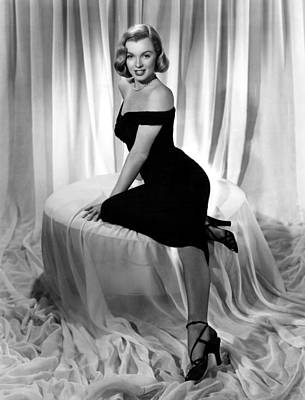 Photograph - Marilyn Monroe Publicity Shot The Asphalt Jungle by R Muirhead Art