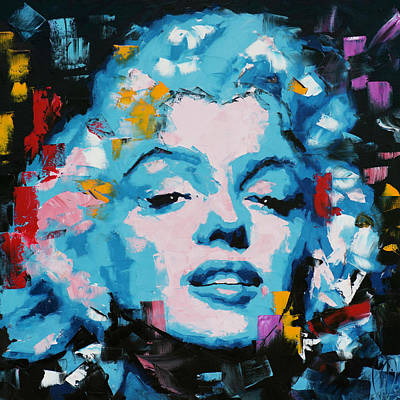 Painting - Marilyn Monroe by Richard Day