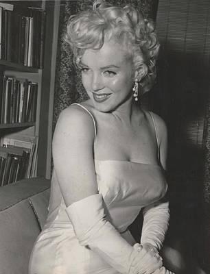 Marilyn Monroe Art Print by Sandras