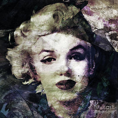 Sex Symbol Mixed Media - Marilyn Monroe  by Stacey Chiew