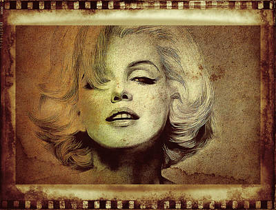 Marilyn Monroe Star Art Print