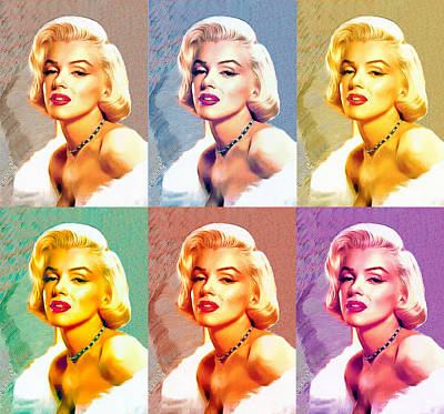 Photograph - Marilyn Monroe by Studio Artist