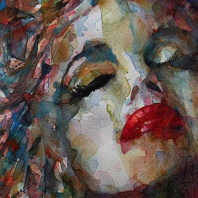 Painting - Marilyn Monroe - The Last Chapter  by Paul Lovering
