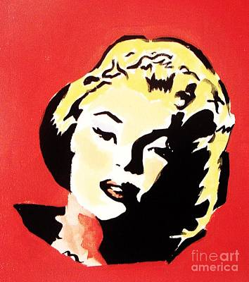 Marylin Painting - Marilyn Monroe  by Vesna Antic