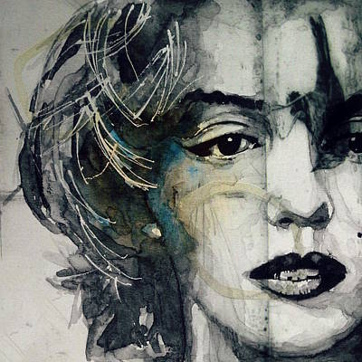 Portrait Mixed Media - Marilyn Monroe - Wicked Games by Paul Lovering