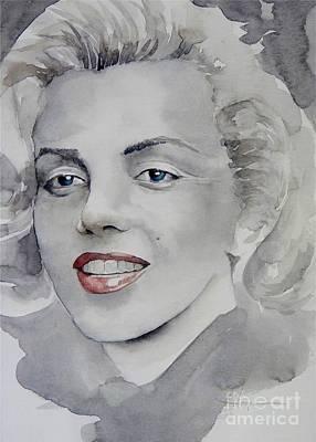 Painting - Marilyn by Robert Hooper