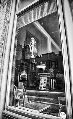 Photograph - Marilyn Through The Window by Theresa Tahara