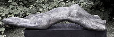 Sculpture - Marilyn Wide Shot by Michael Rutland