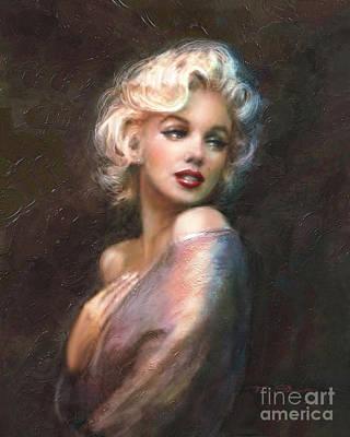 Marilyn Ww Classics Art Print by Theo Danella