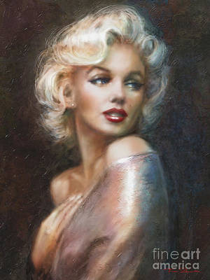 Icon Painting - Marilyn Ww Soft by Theo Danella
