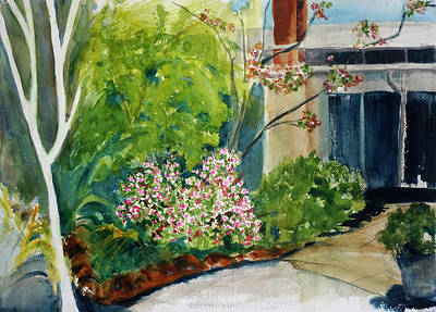 Painting - Marin Art And Garden Center by Tom Simmons