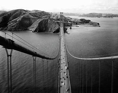 Photograph - Marin Headlands From Golden Gate Bridge by Daniel Hagerman