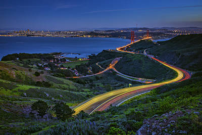 Photograph - Marin Headlands by Rick Berk