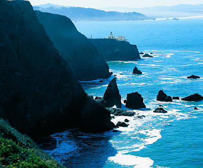 Bonita Point Photograph - Marin Headlands San Francisco Bay by Utah Images