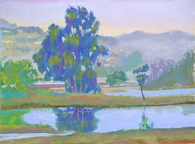 Marin Lagoon Art Print