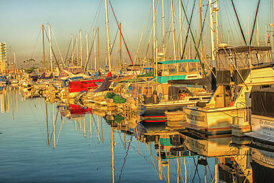 Photograph - Marina 2 by Robert Hebert