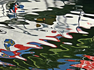 Photograph - Marina Abstract 10 by Sarah Loft