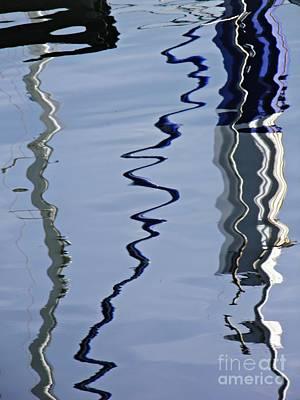 Photograph - Marina Abstract 11 by Sarah Loft