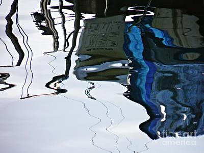 Photograph - Marina Abstract 13 by Sarah Loft