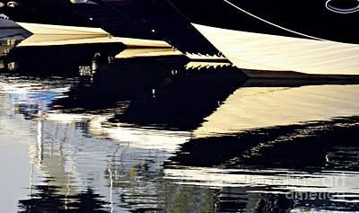 Photograph - Marina Abstract 3 by Sarah Loft