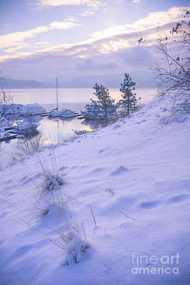 Photograph - Marina And Snow by Idaho Scenic Images Linda Lantzy