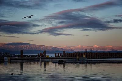 Photograph - Marina At Dusk 2 by Randy Hall