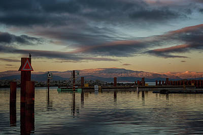 Photograph - Marina At Dusk by Randy Hall