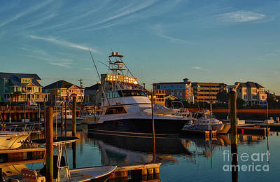 Photograph - Marina At Sunset by Kathy Baccari
