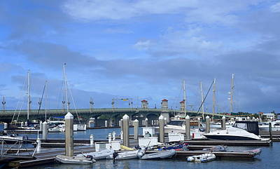 Photograph - Marina At The Lions Bridge by Laurie Perry