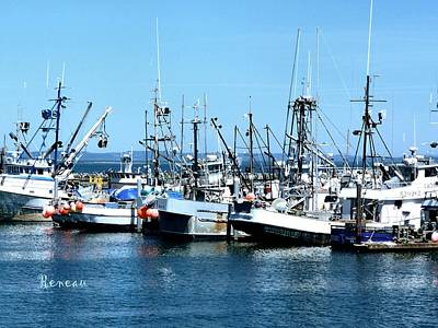 Photograph - Marina At Westport Washington by Sadie Reneau