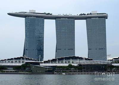 Photograph - Marina Bay Sands 10 by Randall Weidner