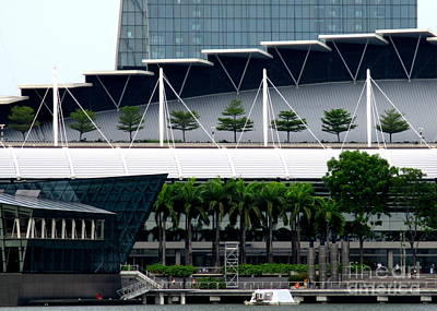 Photograph - Marina Bay Sands 11 by Randall Weidner