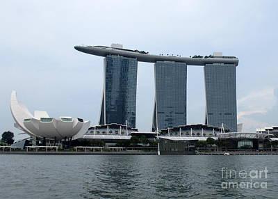 Photograph - Marina Bay Sands 12 by Randall Weidner