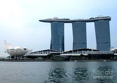 Photograph - Marina Bay Sands 14 by Randall Weidner